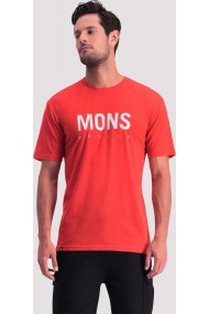 Icon T-Shirt SS (H) Bright Red