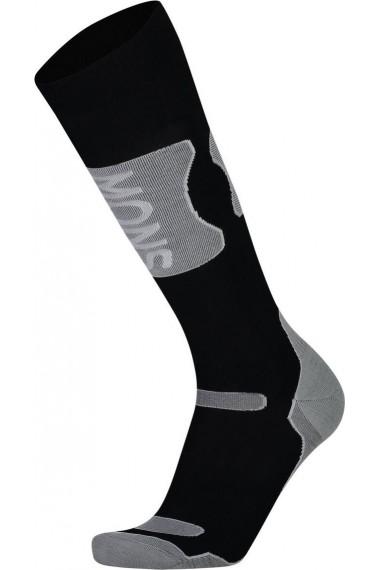 Mons Royale Pro Lite Tech Sock (H) Black Grey Marl