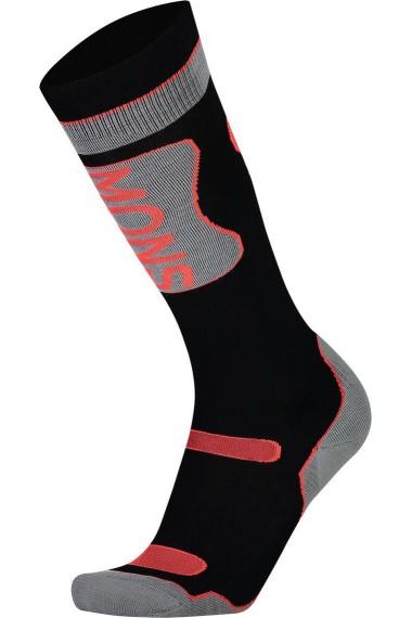 Mons Royale Pro Lite Tech Sock (D) Black Neon