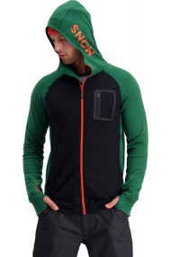 Traverse Midi Full Zip Hood (H) Pine Black