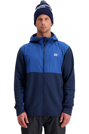 Mons Royale Decade Tech Mid Hoody (H) Navy Deep Ocean