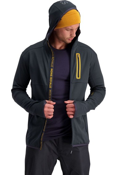 Mons Royale Approach Tech Mid Hoody (H) 9 Iron
