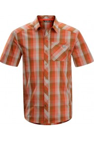 Peakline Shirt SS (H) Red Fox