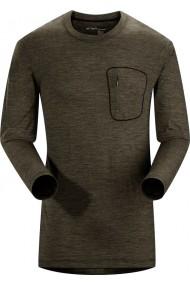 A2B T-Shirt LS (H) Shale