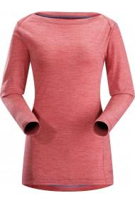A2B T-Shirt LS (D) Claret
