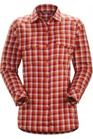 Addison Shirt LS (D) Tika Scarlet