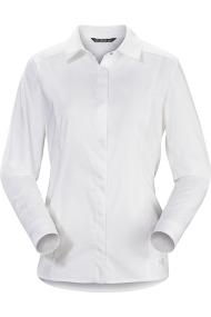 A2B Shirt LS (D) White