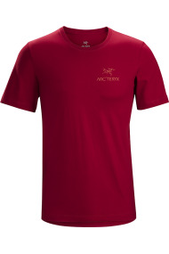 Emblem T-Shirt SS (H) Red Beach