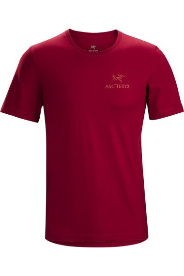 Arc'teryx Emblem T-Shirt SS (H) Red Beach