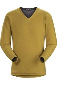 Donavan V-Neck Sweater (H) Ore Heather