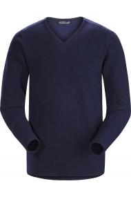 Donavan V-Neck Sweater (H) Kingfisher II