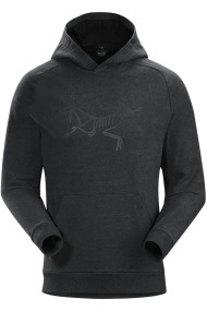 Archaeopteryx Pullover Hoody (H) New Black Heather