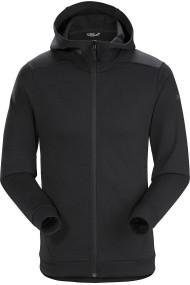 Dallen Fleece Hoody (H) Black