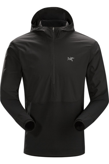 Arc'teryx Aptin Zip Hoody (H) Black