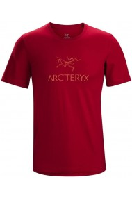 ArcWord T-Shirt SS (H) Red Beach