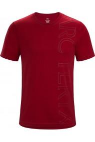 Macro T-Shirt SS (H) Red Beach