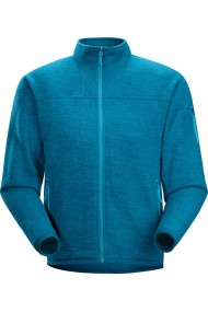 Covert Cardigan (H) Thalo Blue